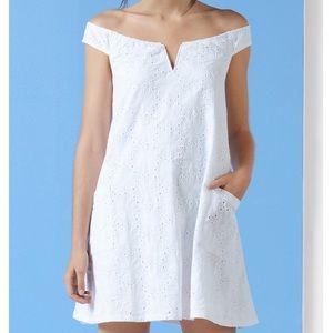 Tobi off shoulder floral dress